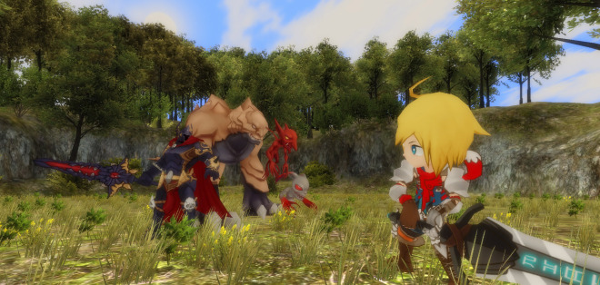 An early screenshot of Soul Saga, a Kickstarted game based on classic Japanese RPGs.