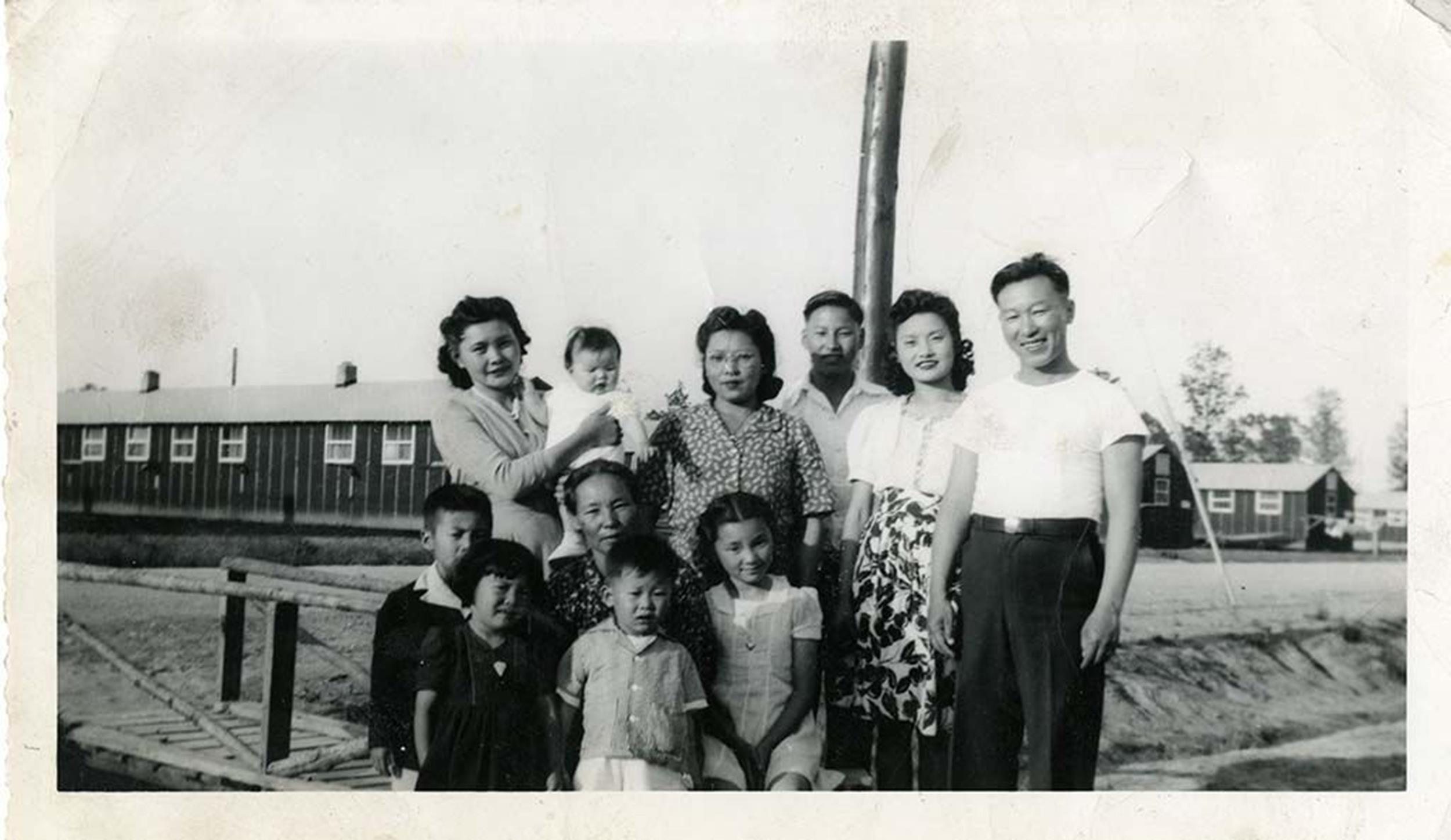 Lisa Hasegawa's family, detained at Japanese-American interment camps during World War II.