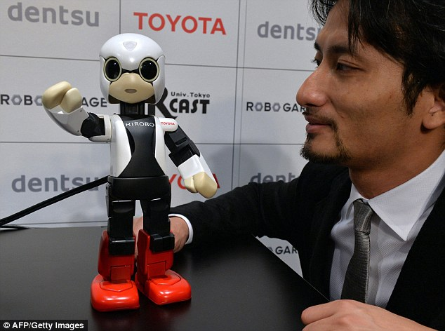Man vs machine: Tokyo University helped this robot, Kirobo, which was sent to space. Now researchers hope to create artificial intelligence software so smart it can pass the university entrance exam itself.