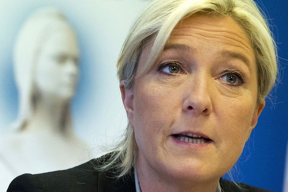 Marine Le Pen is demanding the French president intervene over the mooted $10bn fine for BNP Paribas
