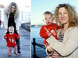 Paula Andrew was playing on the promenade in Scarborough with her nine-month-old daughter Maddy when a police van and two officers turned up and began to question her