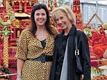TV presenter Kirstie Allsopp, pictured with her mother Lady Fiona Hindlip in 2011. Lady Hindlip died after a long battle with breast cancer earlier this year