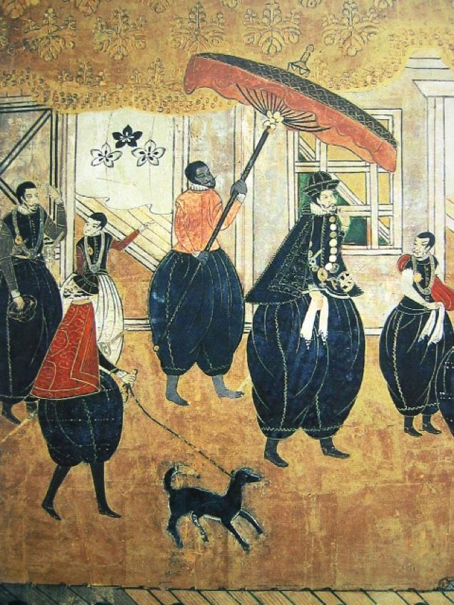Is This The Oldest Image of a White Dude in Japan?
